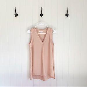 DR2 Daniel Rainn Pink Sleeveless Top Size XS